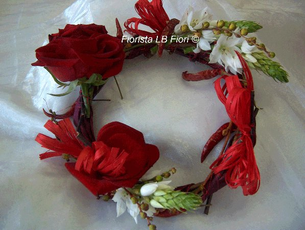 Coroncina per laurea trendy consegna fiori online a for Addobbi per laurea