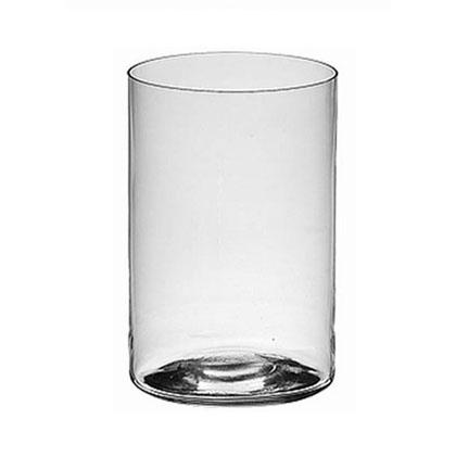 Vaso in vetro cilindrico consegna fiori online a for Vasi in terracotta leroy merlin