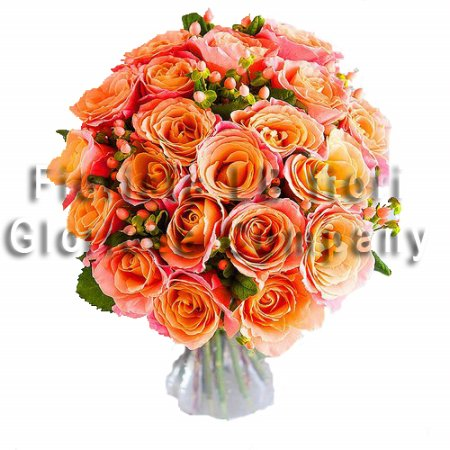Bouquet rose autunno